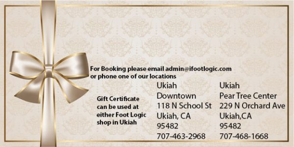 Foot Massage Gift Certificate